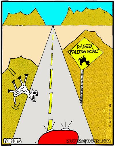 Falling Goats