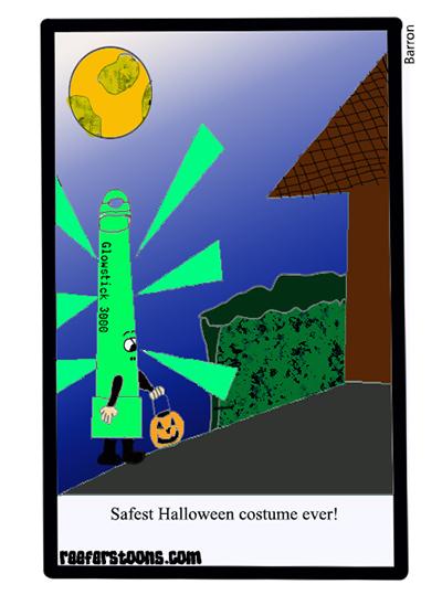 glow stick halloween costume