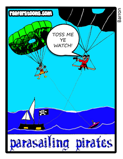 Parasailing Pirates