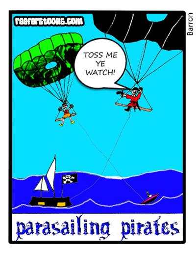 Parasailing Pirates