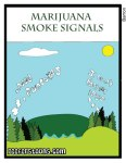 marijuana smoke signal