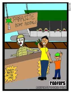 Parasite-reefers