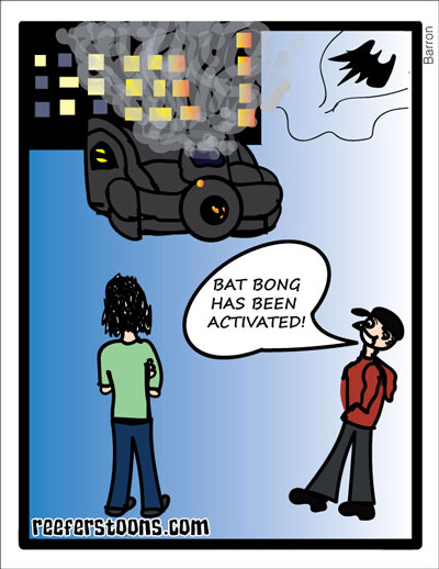 Batman's Bong