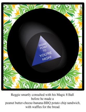 Magic 8 Ball -weed