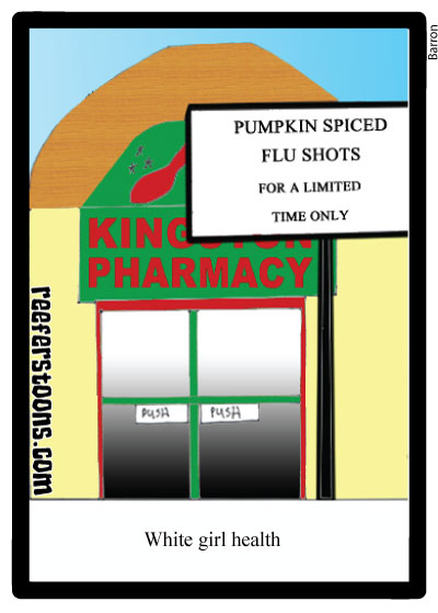 Pumpkin Spiced flu shots