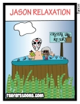 Jason Vorheese cartoon