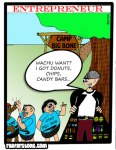 Entrepreneur Cartoon